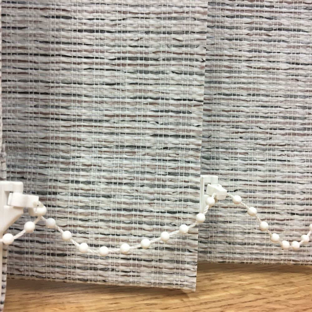 Amazon Fossil Vertical Blind Replacement Slats 3 5 Quot 89mm Woven White